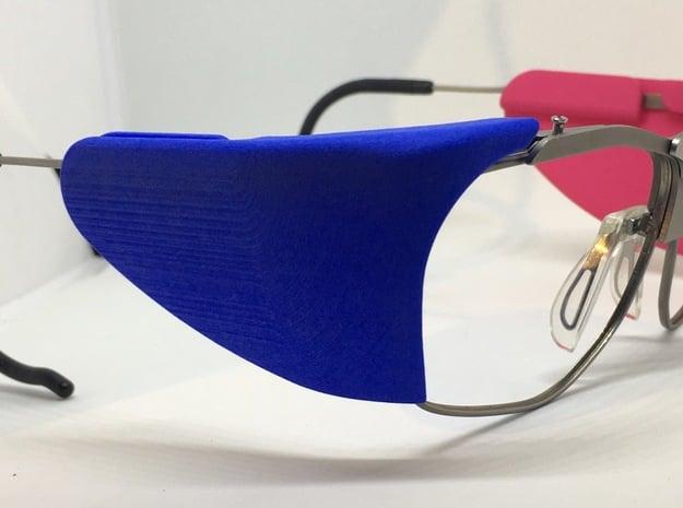 Seitenblende für die Dynamik in Blue Processed Versatile Plastic: Small
