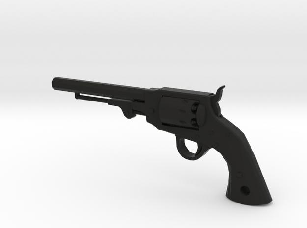Ned Kelly Gang Outlaw Colt 1851 Revolver Keyring in Black Natural Versatile Plastic