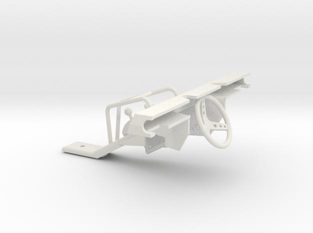 Dash for Micro Shark in White Natural Versatile Plastic