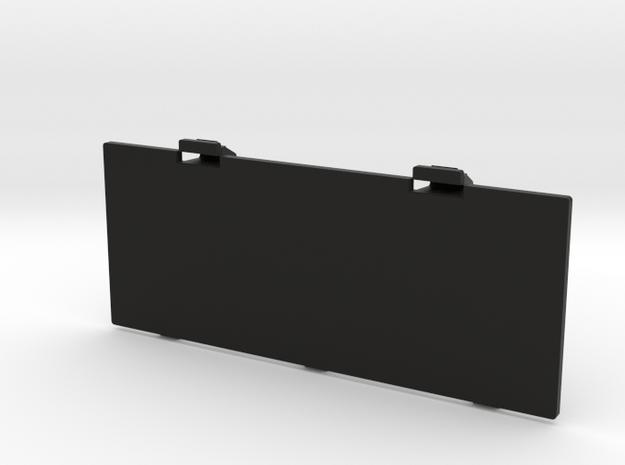Techsonic J1 Boombox Battery Cover in Black Natural Versatile Plastic