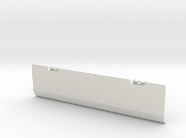 Conion CRC-H84 Battery Cover in White Natural Versatile Plastic