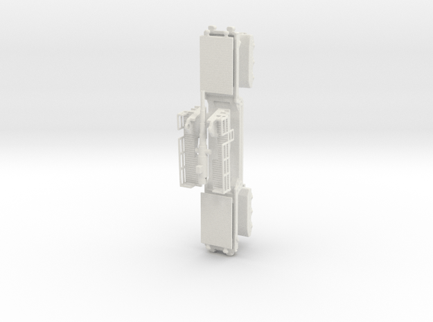 17 cm kanone eisenbahnlafette 1/87 kit