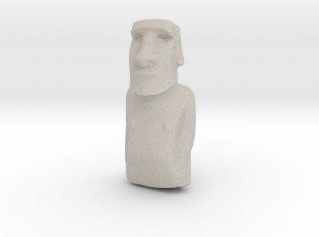 Moai in Natural Sandstone