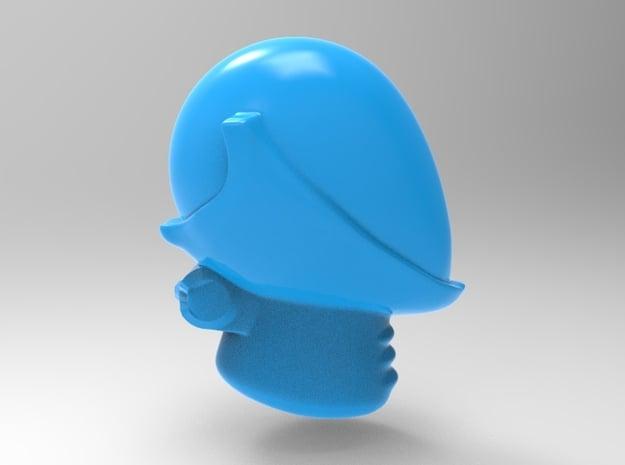Dark Eldar - Space Elf Reaver Helm x40 in Smooth Fine Detail Plastic
