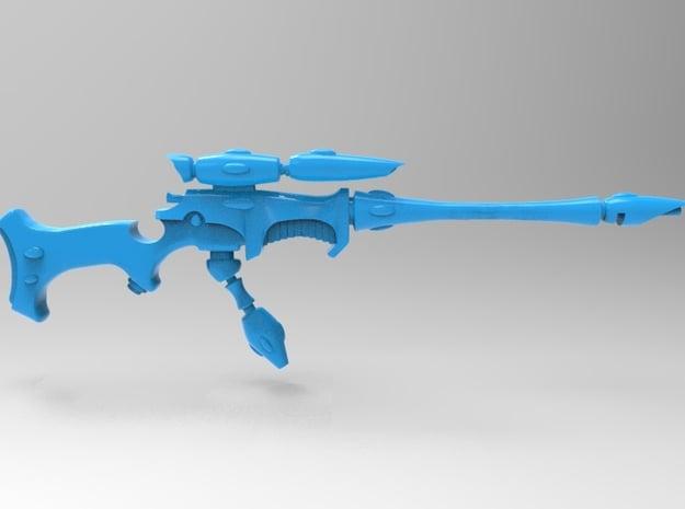 Eldar - Space Elf - Ranger Long Sniper Rifle x10 in Smooth Fine Detail Plastic