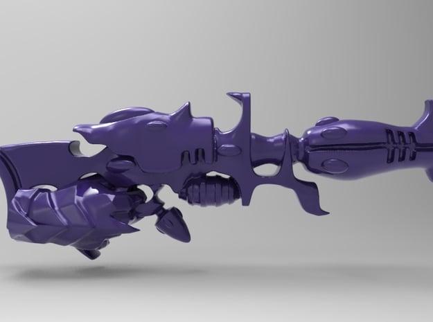 Dark Eldar- Space Elf - Blaster - With Hand - x10 in Smooth Fine Detail Plastic