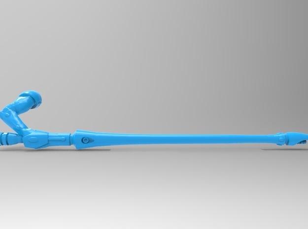Eldar Space Elf Shining Spears x7 (5 Long 2Star) in Smooth Fine Detail Plastic
