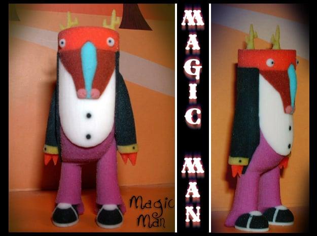 Magic Man in Full Color Sandstone