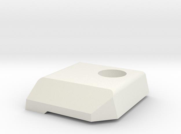 Deranged V2 Masada deflector in White Natural Versatile Plastic