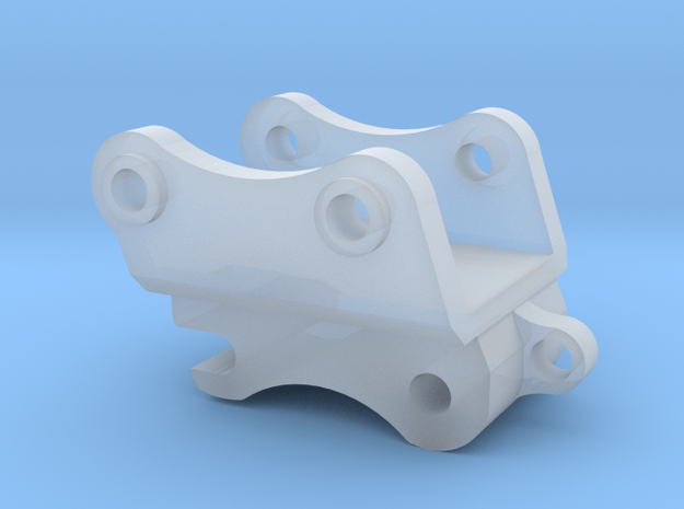 1:50 Hitachi ZX250 Quick Coupler  in Smooth Fine Detail Plastic