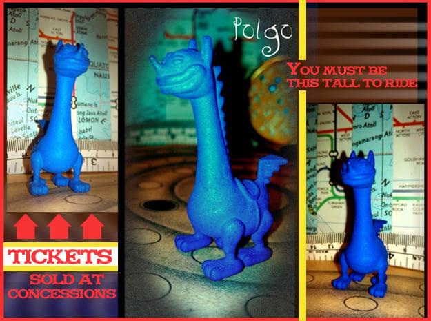 Polgo in Blue Processed Versatile Plastic