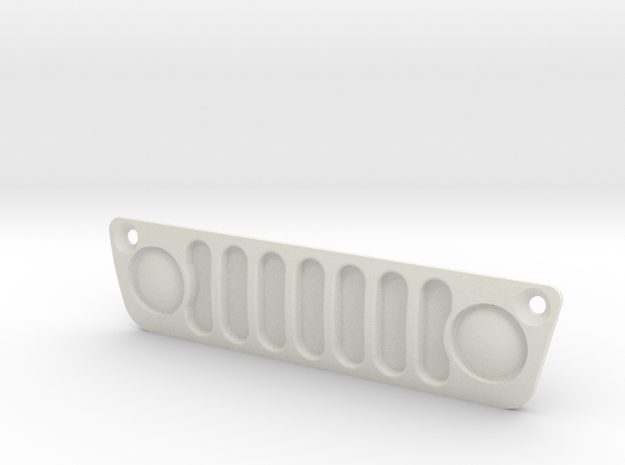 Axial Capra Jeep Grille in White Natural Versatile Plastic
