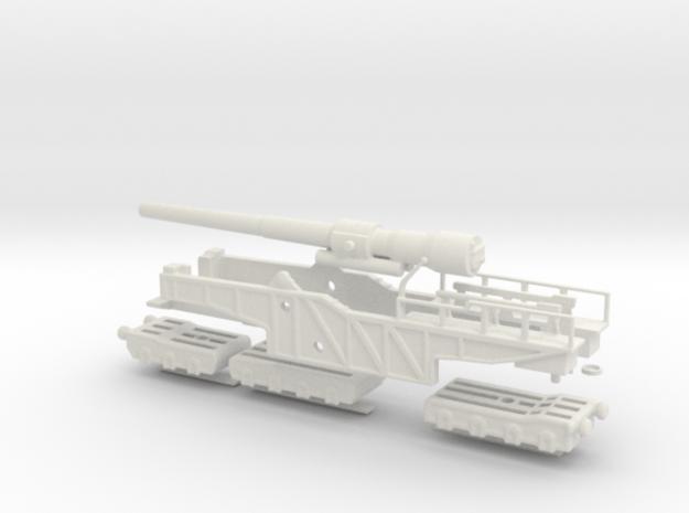 BL 12 railway gun Mk IX Elswick armstrong 1/76 oo
