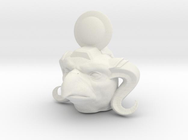 Horus of the Flock in White Natural Versatile Plastic