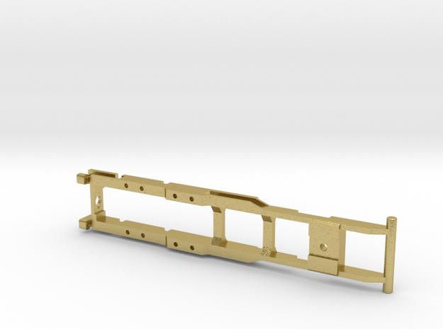 Rahmen für 2achs. Allrad-Lkw in Natural Brass