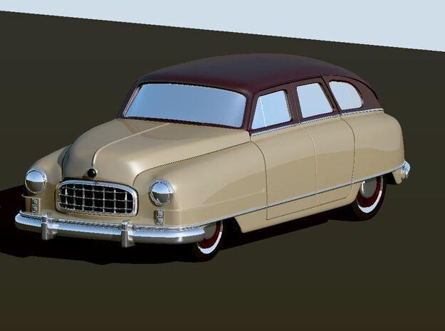 1949 Nash Ambassador 4 Door in White Natural Versatile Plastic