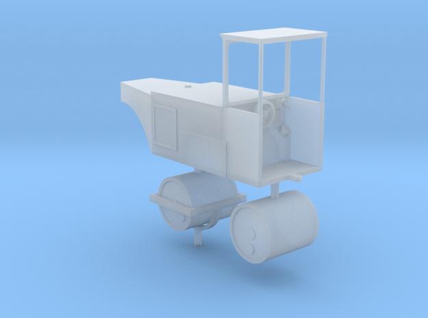 Straßenwalze mit Verdeck 1:160 N in Smooth Fine Detail Plastic