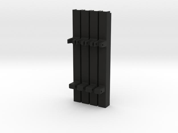 Set Buitendeel Magirus stempel in Black Natural Versatile Plastic: 1:16