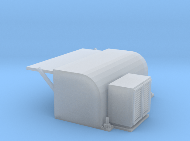 Type14 Frigate main and auxiliary vents in Smooth Fine Detail Plastic