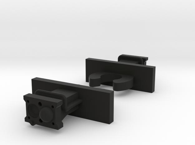 N09AA - Oberfalzbahn Regioshuttle Dummy Couplers in Black Natural Versatile Plastic