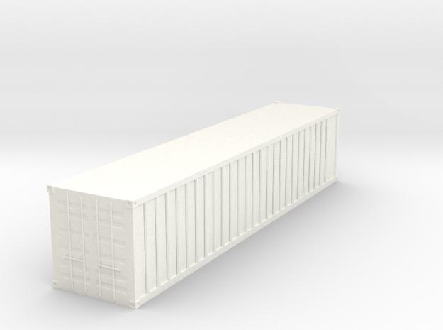 1/144 container in White Processed Versatile Plastic