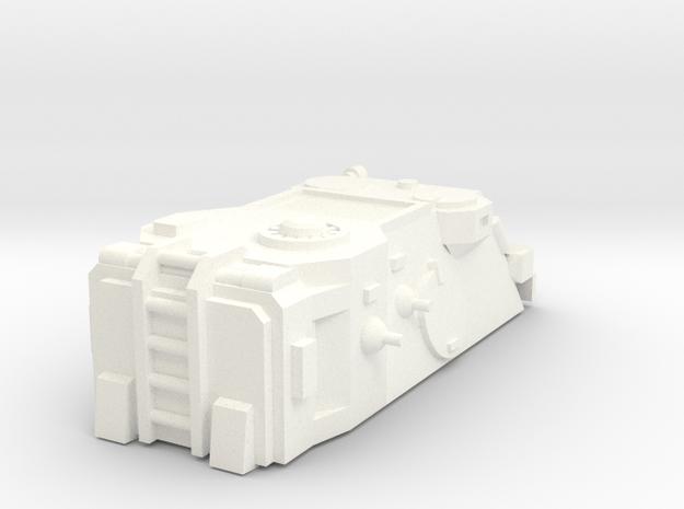 15mm SciFi apc cabin in White Processed Versatile Plastic