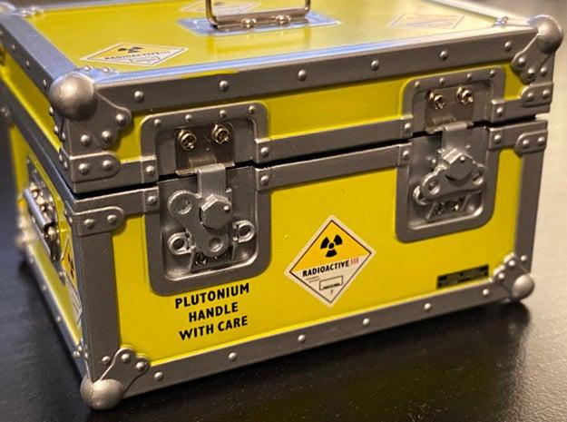 1:8 BTTF DeLorean plutonium case latches in Smoothest Fine Detail Plastic