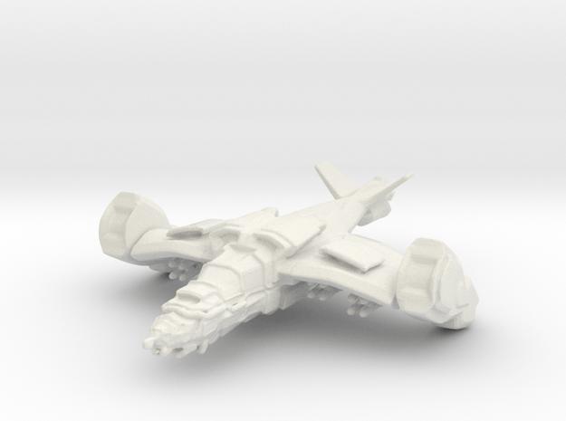 Gremlin Gunship, 15mm in White Natural Versatile Plastic