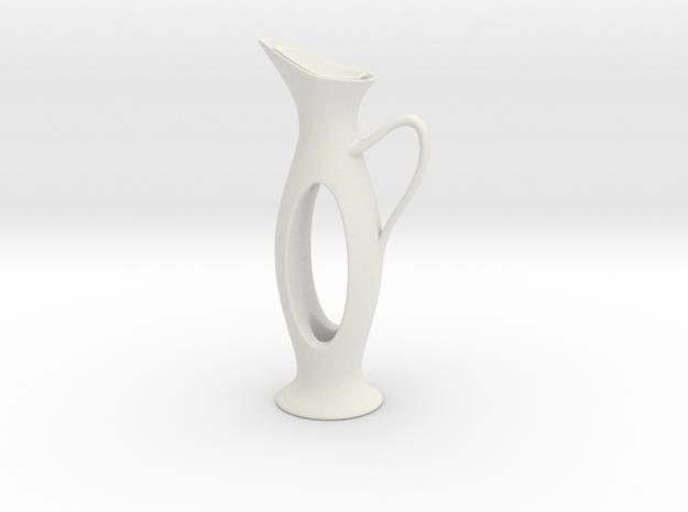 Vase 1512t in White Natural Versatile Plastic