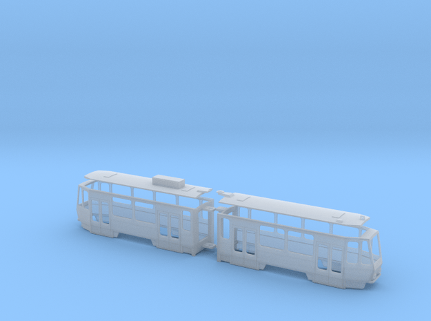 Gera KT4DMC in Smooth Fine Detail Plastic: 1:120 - TT