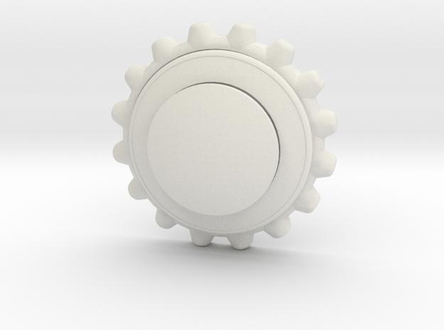 Zwheel in White Natural Versatile Plastic