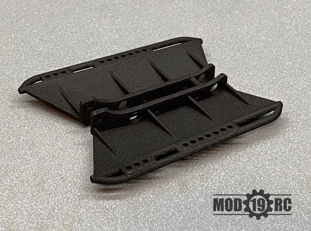 SCX24 Slider Set for Wrangler JLU in Black Natural Versatile Plastic