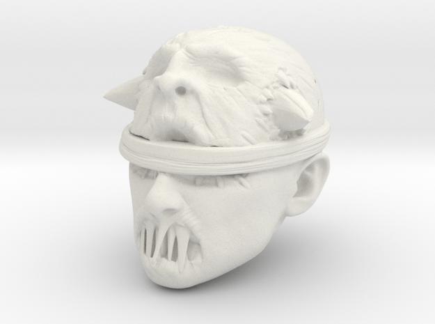 The Voodoo Priest in White Natural Versatile Plastic