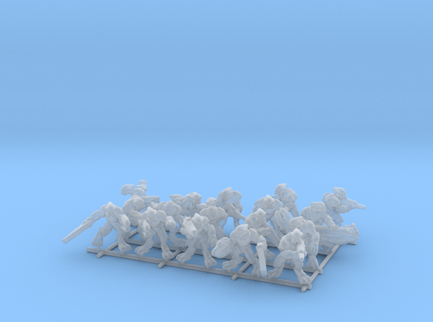 Concordant Elite Infantry (No Bases) in Smooth Fine Detail Plastic