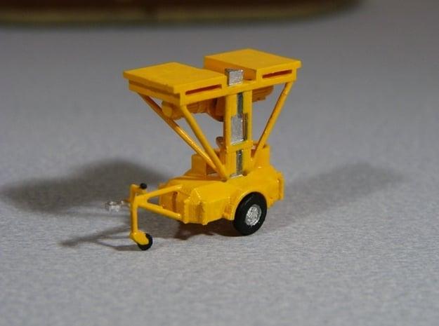 Fahrbares Hubgerüst - FH 1600 Fahrstellung - 1:87  in Smooth Fine Detail Plastic