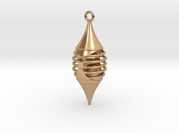 Pendulum in Polished Bronze