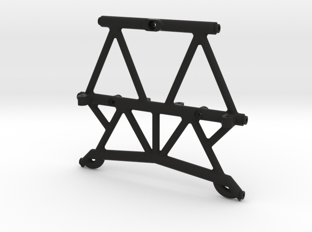 High Clearance Rear Brace for Axial Capra in Black Natural Versatile Plastic