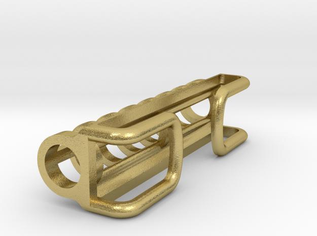 Tritium Marker R1 in Natural Brass