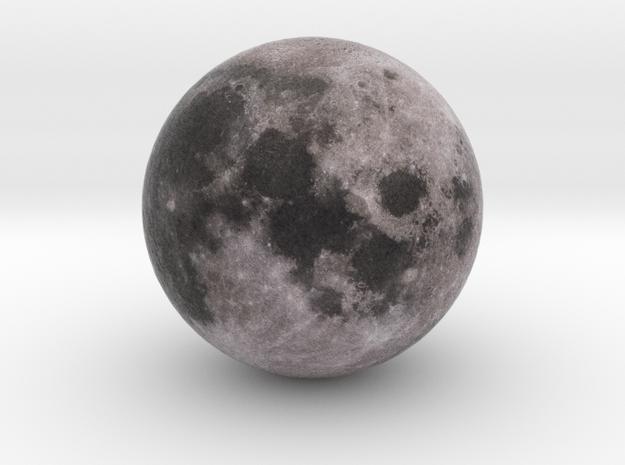 Moon 1:1 billion in Natural Full Color Sandstone