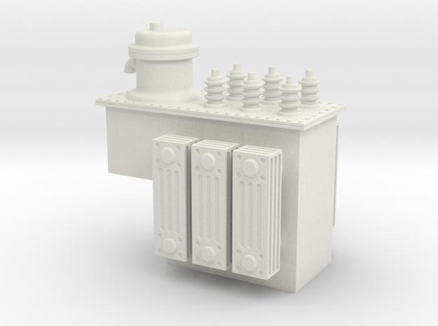 Step Voltage Regulator in White Natural Versatile Plastic: 1:48 - O