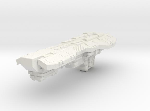 FoxThanos Class Destroyer in White Natural Versatile Plastic