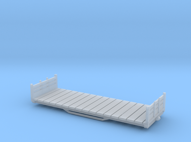 Flat base H0e for scratch build wagon in Smooth Fine Detail Plastic