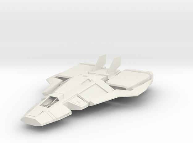 SCF-500 Coyote II in White Natural Versatile Plastic