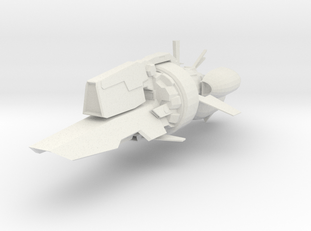 CX-4SV Trident in White Natural Versatile Plastic