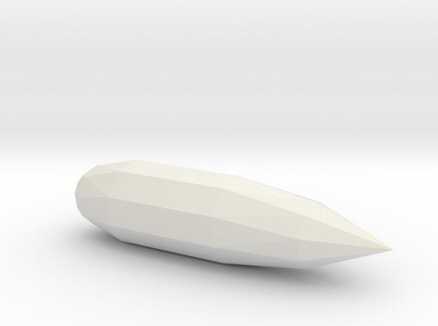 1/72 Scale APS-31 Radar in White Natural Versatile Plastic