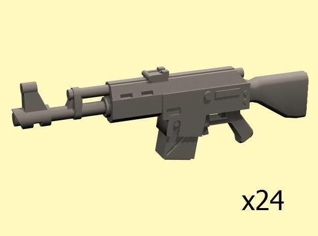 28mm SciFi LK-47 laser rifles x24