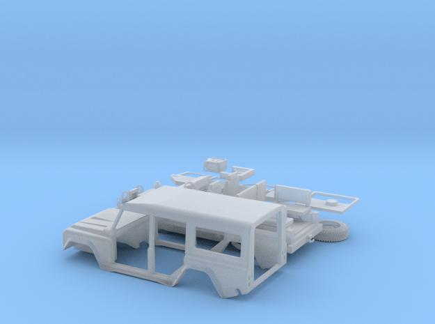 LRS-ANIBAL-72-Mejorado-Piezas-proto-01 in Smooth Fine Detail Plastic