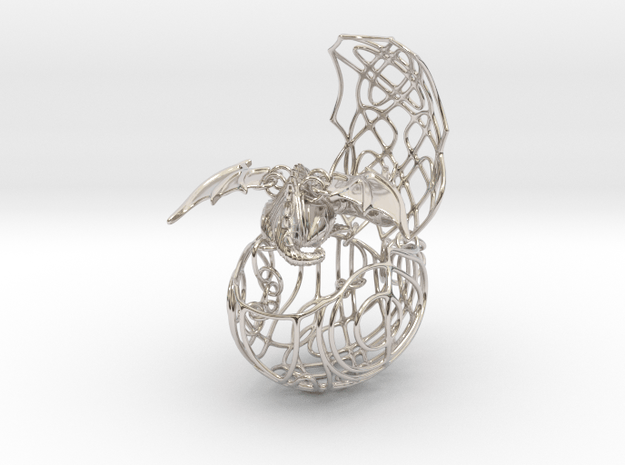 European Dragon egg pendant