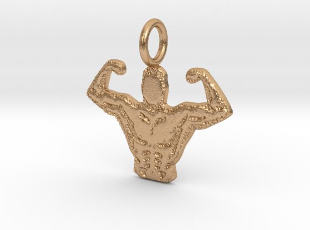Body Builder in Natural Bronze