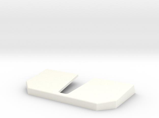 Conion C100 feet cover in White Processed Versatile Plastic